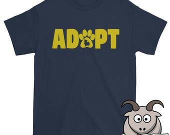 Adopt Shirt, Pet Adoption Shirt, Rescue Shirt, Animal Rescue Shirt, Animal Shelter Shirt, Pet TShirt, Adopt a Pet Shirt, Adopt Dog Shirt