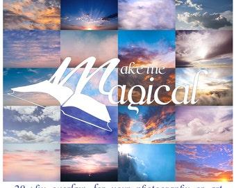 Sky Overlay | Digital Sky | Sky Backdrops | Sky Photoshop | Sunset | Clouds | Sky | Sky Overlays | Photo Overlay| Photography overlays