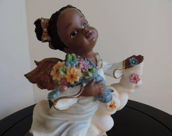 Figurine - ornament - Angel - Casinelli -.