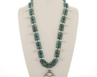 Santo Domingo Squash Blossom Necklace