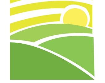 Bright Horizons - OOAK Premade Logo