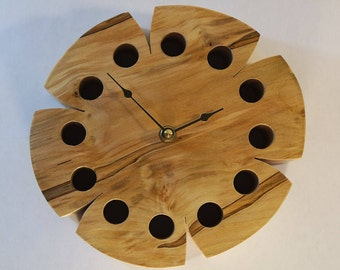 Wall Clocks in Wood