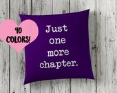 Reading Quote Pillow   Reading Pillow   Book Lover Toss Pillow   Reading Throw Pillow   Book Pillow Case   Book Lover Pillow   Book Pillow