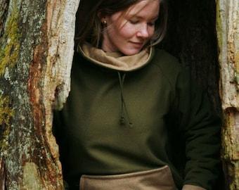 Moss Green Woolen Sweater