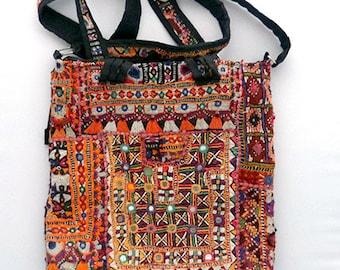Vintage Boho Bag Hippie Style Indian Gypsy Banjara Crossbody Shoulder Bag