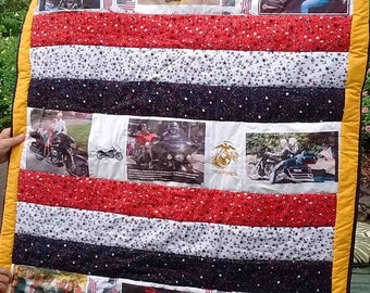 Heirloom/Memory quilts made special for any occasion and for any one