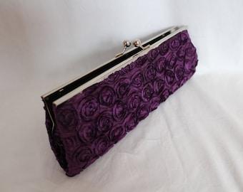 Vintage clutch.Wedding clutch.Bridal clutch.Rose clutch.Clutches Bridal Accessories.Wedding bag.Bridesmaid.Gift for woman.Woman clutch.