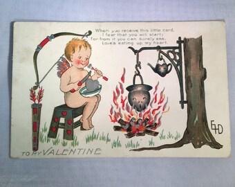 1911 Valentine Card
