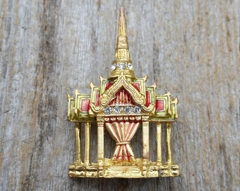 Thai Pavilion Brooch
