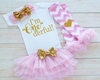 Baby Girl Birthday Outfit, First Birthday Girl, 1st Birthday Girl Shirt, Cake Smash Outfit, First Birthday Girl Bodysuit, Birthday Outfit