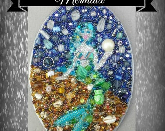 Mermaid Bead Mosaic