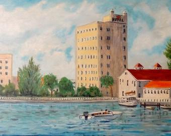 Old Sarasota Pier 1950's