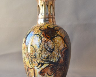 French Vintage Lampe Berger Catalytic Oil Fragrance Lamp - The Cave of Lascaux Decoration GL
