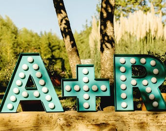 Marquee leters - letters of light for events