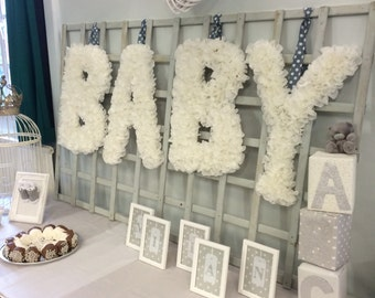 Baby Shower Baby Sign Decoration
