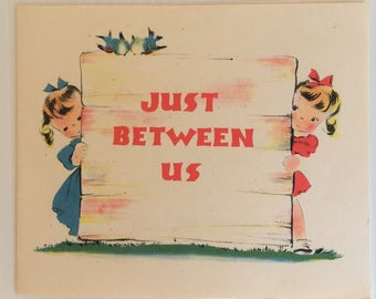 Vintage 1950's Mother's Day card - unused