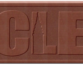 CLE Chocolate Bars - 2 custom designed bars for 5 dollars!