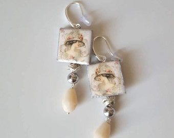 Caltagirone' s pottery earrings