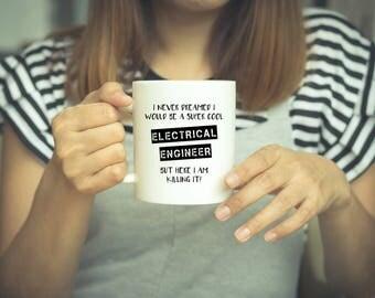 Electrical Engineer, Engineer Gift, Engineer Mug, Coffee Mug, Funny Engineer Mug, Electrician, Electronic Engineer, Gifts For Engineers, Mug