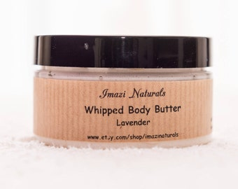 Lavender Body Butter, Natural Body Butter, Whipped Body Butter, Vegan Body Butter, Shea Butter,  100ml