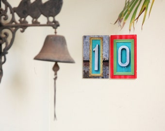 house number plaque, Outdoor name sign, mailbox numbers , door numbers and letters, gift for new house , address signs, decorative numbers