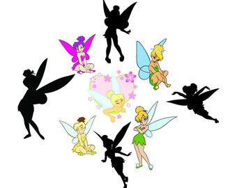 Tinkerbell  svg,png,jpg,eps for Print/Silhouette Cameo/Cricut and Many More