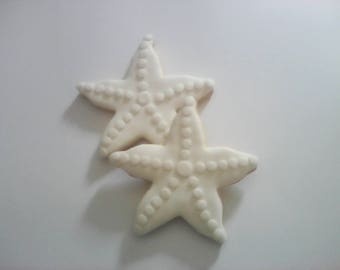 12 Starfish Decorated Sugar Cookies Baked Goods Sugar Cookie Handmade Cookies Decorated Wedding Cookies Wedding Favors Beach Weddings Favour