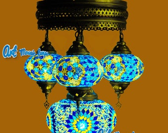 Hanging lamps,Turkish lamps,mosaic lamps,hanging chandeliers,moroccan chandeliers,arabian lamps,arabian lanterns,unique light fixture,