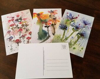 Mother's Day Spring Flowers Postcards