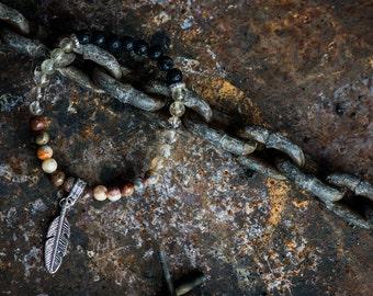 CAREFREE | Aromatherapy Gemstone Diffuser Bracelet