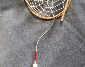 Dream Catcher with Hematite center bead