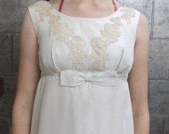 Vintage Edwardian style wedding dress