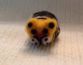 Felted Tiger