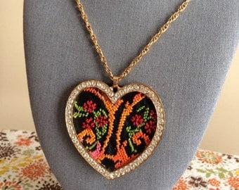 Handmade Gorgeous Heart Necklace