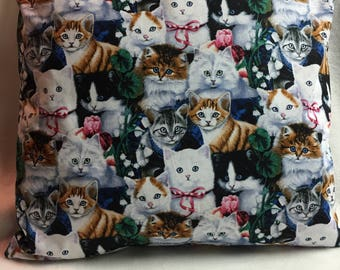 Cats!!  Pillow 18 x 18 (#014)