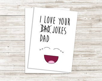 Funny Fathers Day Card - Funny Card For Dad - Fathers Day Card from Son - Fathers Day Card from Daughter - Funny Birthday Card for Dad