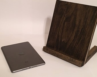 Handmade Wooden iPad / Android Tablet Stand