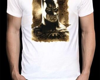 Batman // T-Shirt 100 // Illustration // Made by hand // Comic // DC // Catwoman