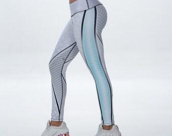 Women Leggings, Yoga Pants, Leggings, Spandex pants, Athletic leggings, Stylish leggings, Workout Pants, printed leggings, white leggings