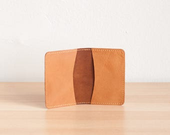 Sale - Leather Card Case, Leather Business Card Case, Gift for her, Gift for Him, Mother's Day Gift, Leather Card Holder, Small Card Wallet