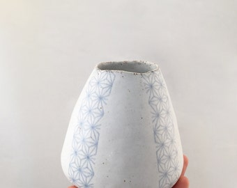 Geometric Ceramic Vase Large - MADE TO ORDER