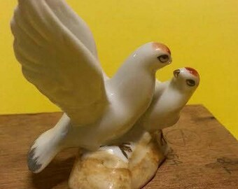 Vintage China Birds Figurine