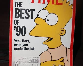 The Simpson 1991 Time Magazine Bart Homer Marge Simpson by Matt Groening