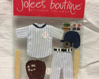 Jolee's Boutique Dimensional Baseball Sticker