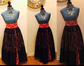 Medley Maxi Skirt
