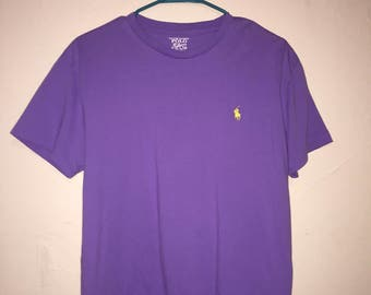 Polo Ralph Lauren Purple T-shirt