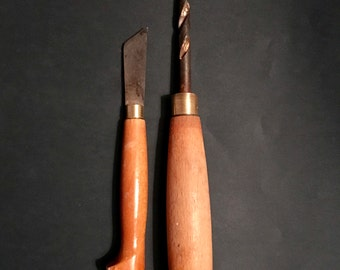 Set of two vintage handtools