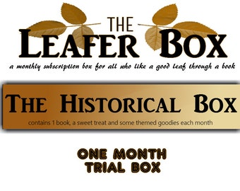 Leafer Box - One Month Trial Book Box - The Historical Box