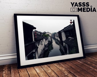 Fine Art Print: Chinese Canals
