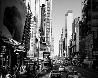 New York City Black and White Photography Artwork